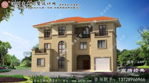 柯城区自营住宅别墅工程设计图