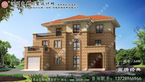 武义县完美设计的别墅效果图