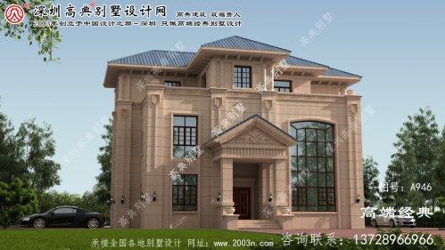 福建省自建别墅设计图纸