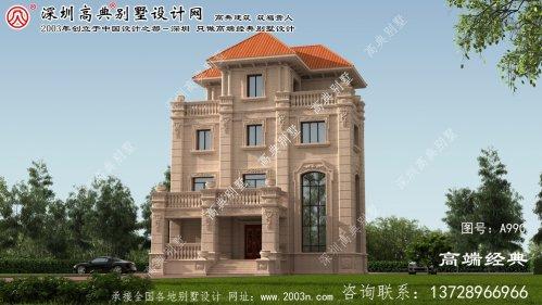 都昌县乡村复式别墅设计图