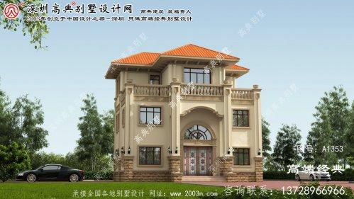 广宗县农村别墅房设计图