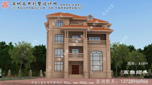 交口县农村房屋设计图