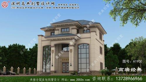 汾阳市小别墅房屋设计图