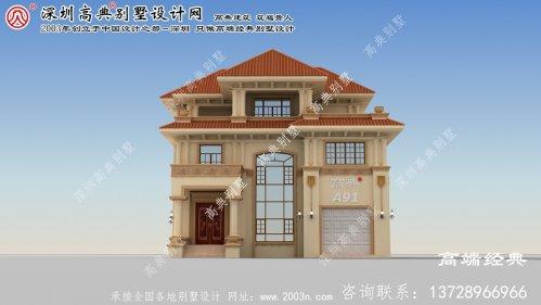 朝阳县农村别墅设计图