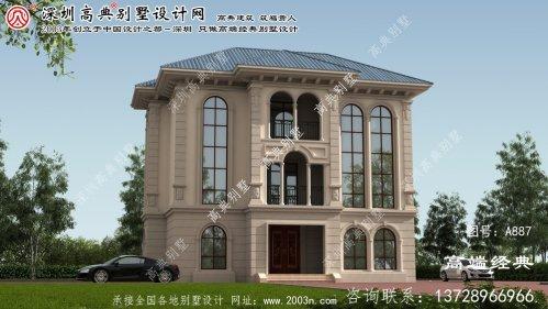 淅川县高级豪华别墅设计图