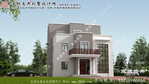 安陆市民用小别墅设计
