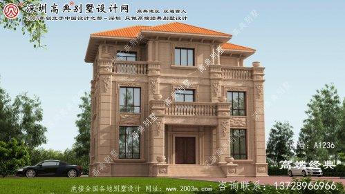 资阳区欧式石材别墅风格