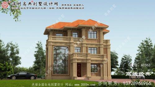 吴川市住宅别墅设计图