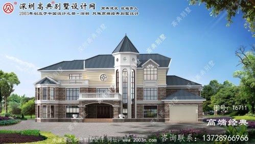 渝北区别墅558平方设计图纸