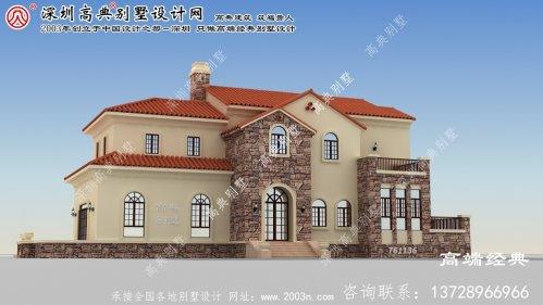 沐川县二层别墅最新设计图