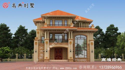 纳雍县简约别墅设计平面图