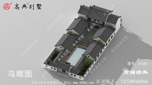 札达县农村盖房别墅图