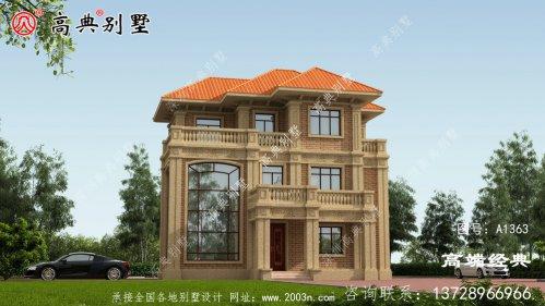 金塔县农村自建房两层半
