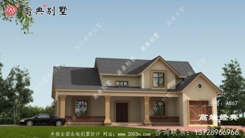 农村单层别墅设计图