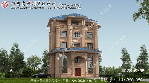 永顺县优雅的意大利风格石材别墅整体