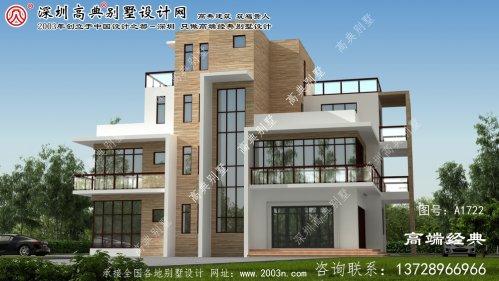 辰溪县清爽自然的三层现代风格的别墅