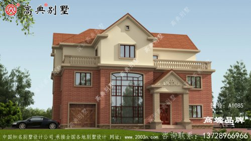 农村新型别墅老人房和客房都在一楼,