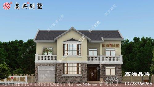 农村实用房屋设计图沉稳大气的美式风