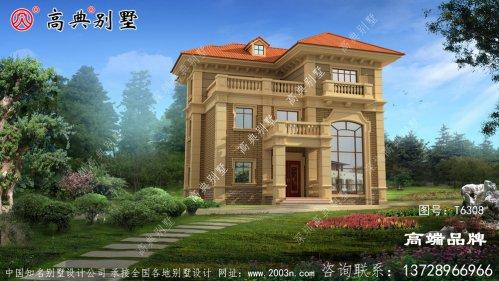 三层别墅设计图结构线