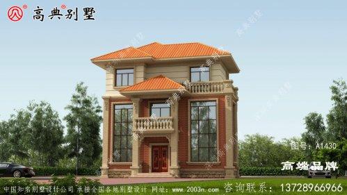 乡村房子设计色彩雅致温馨,户型方正