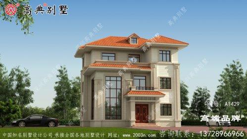 房子设计图纸平面方正