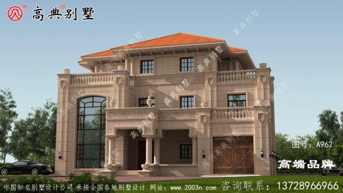 农村三层房屋设计图设计比较独特