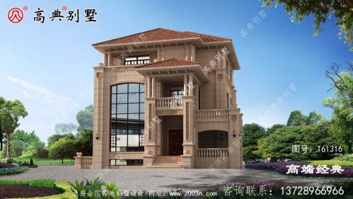 多层别墅外观效果图符合现代人的住宅