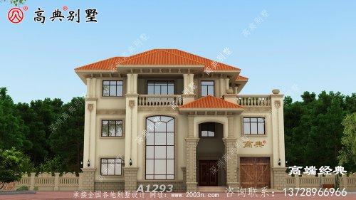 简欧别墅设计案例,雅致而简朴。