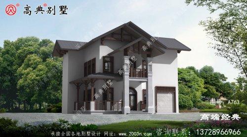 中式两层小别墅心动的话,就赶紧行动