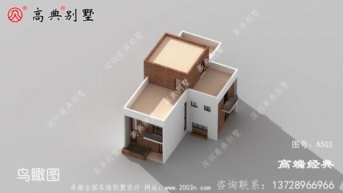 露台设计来加强别墅整