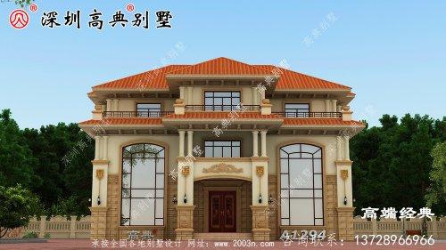 农村自建房,漂亮且实用,给父母的最