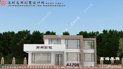 两层自建房设计图,是大多数人的建房