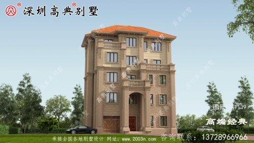独栋五层别墅设计图,建成太气派了