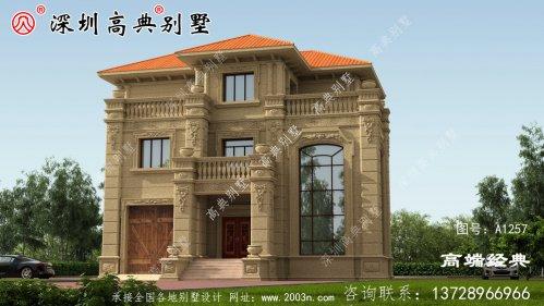 168平方米的农村住宅设计应该这样建造