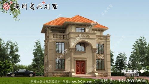 2021年最新二层别墅图,外观简洁美观,