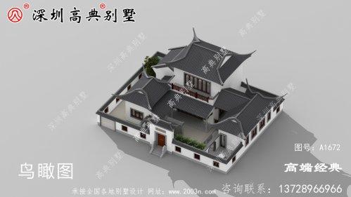 农村二层别墅设计图片,大气实用又接