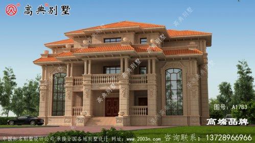 简单大气的欧式石材别墅既美观又实用,关键是经久不过时