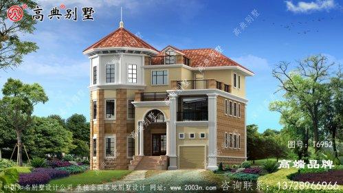 用简洁的设计最符合农村需求的自营住宅