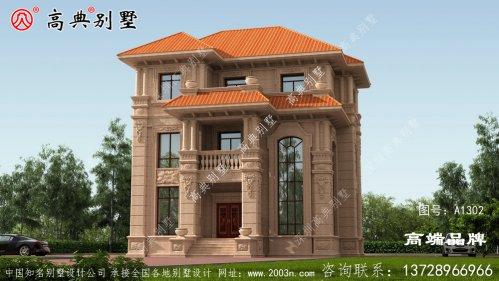 乡村别墅精美图纸,房子这样建,让你在