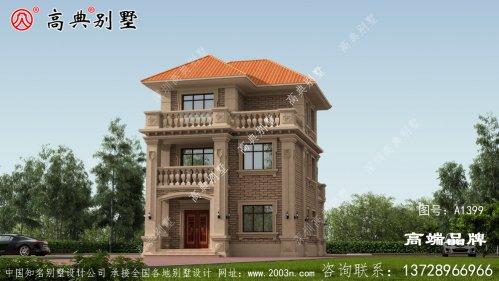 自建三层别墅效果图,晚上做梦都想着