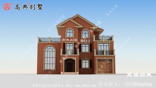 这座欧式别墅,老家建栋,生活潇洒又